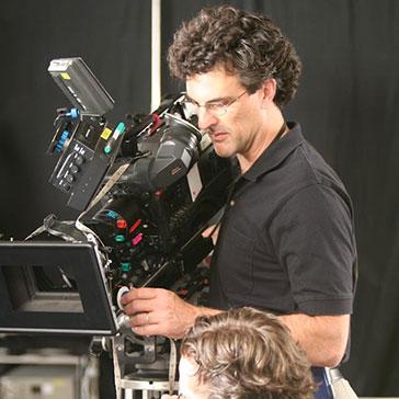 Greg behind the camera